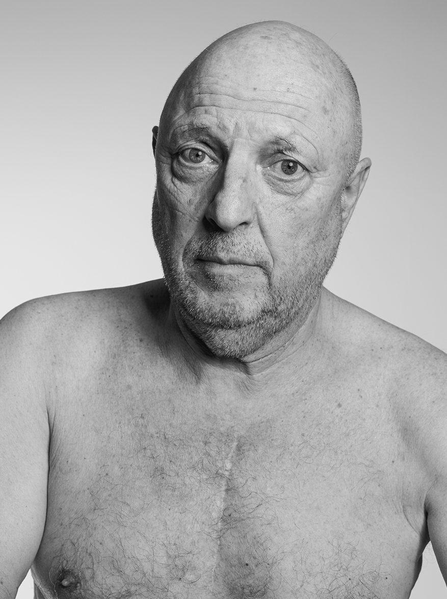 Portrait eines Schauspielers, zum Thema Psyche und Gesundheit