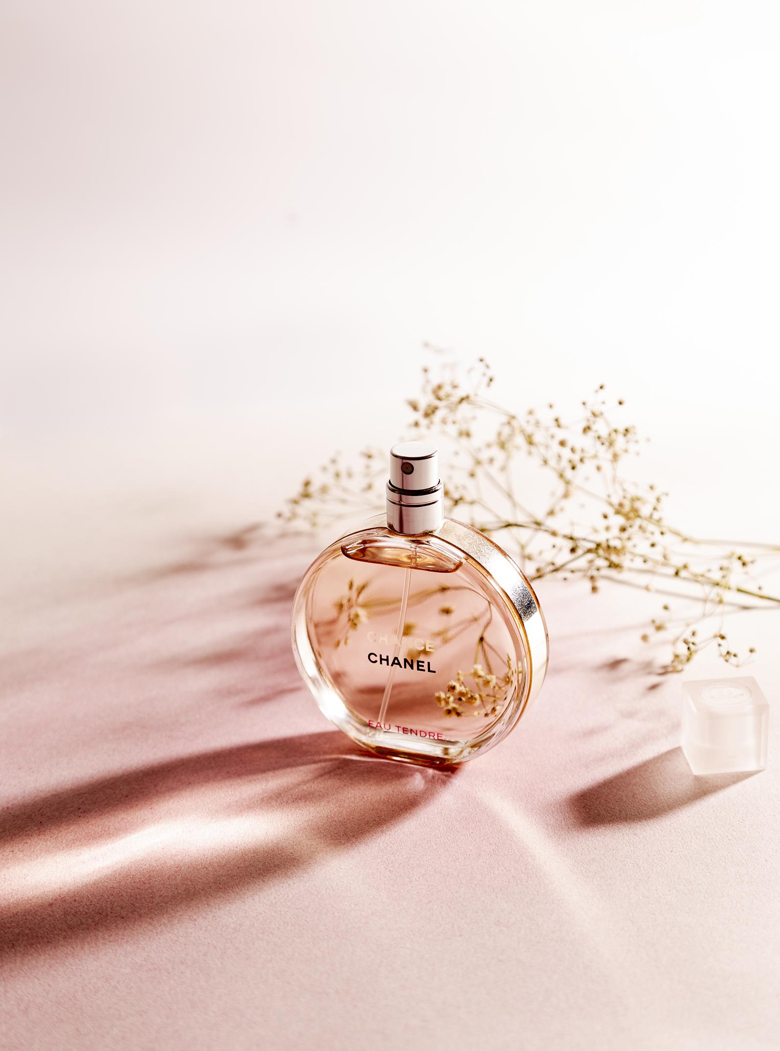 Produktfotografie Lichttest Chanel