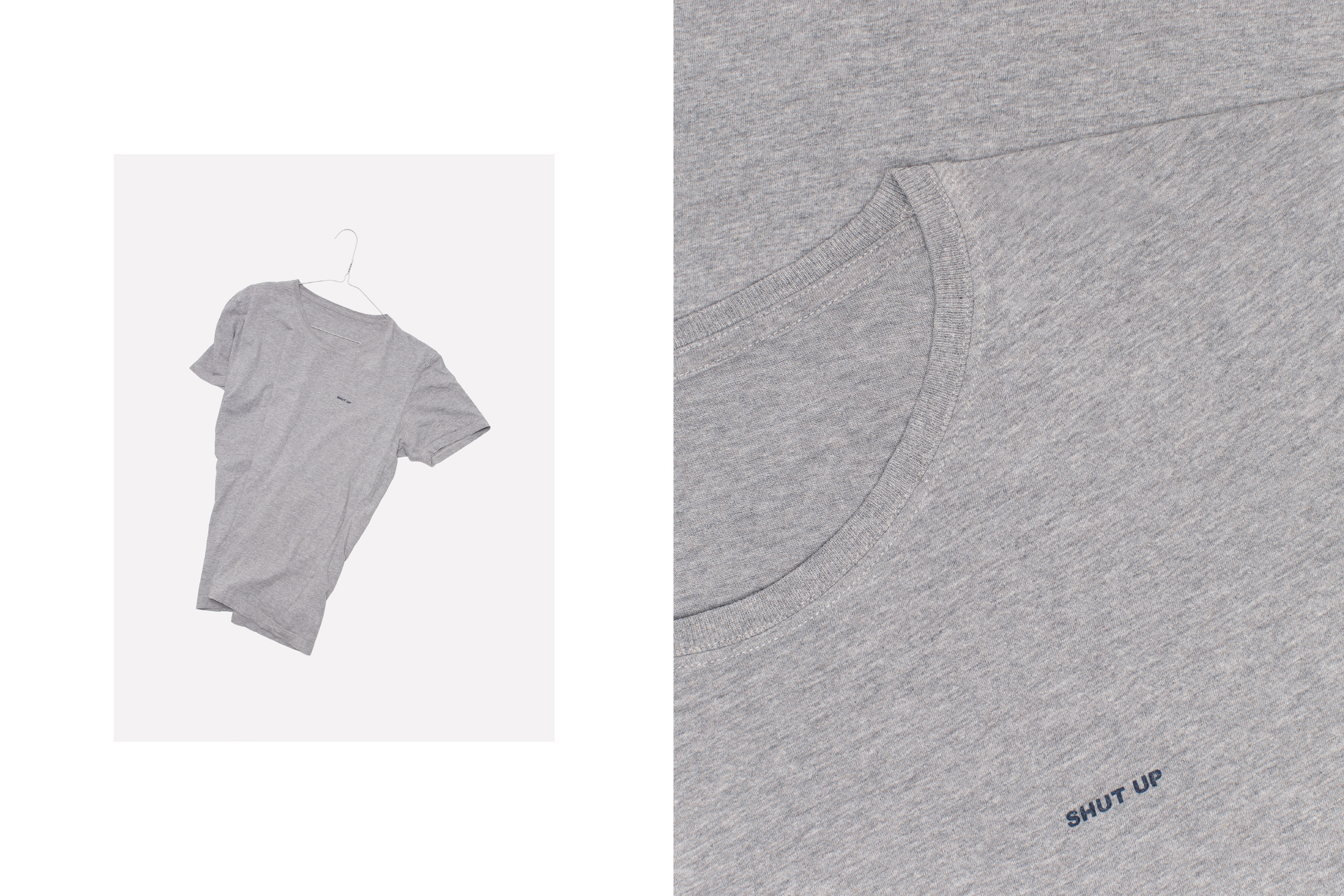 Marc Oortman Produktfotografie Shirt Shut Up